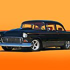 1955 Chevrolet Coupe III by DaveKoontz