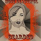 World's Most Beautiful Bearded Lady by CatAstrophe