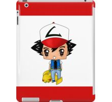 Chibi Ash Ketchum iPad Case/Skin