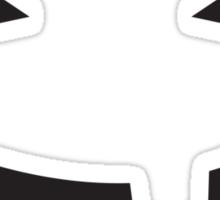 Incredibly cute BABY Jack-o-lantern smiling Sticker