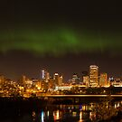 Northern Lights Edmonton by Tigfx