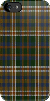 02408 Bergen County, New Jersey E-fficial Fashion Tartan Fabric Print Iphone Case by Detnecs2013