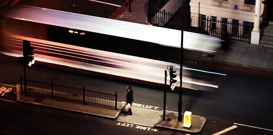 Night Bus by Tannen Helmers