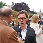 Rob Brydon at the RHS Chelsea Flower Show 2013 by Keith Larby