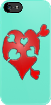 A LOVE puzzle piece by James Lewis Hamilton