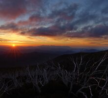 Mt Hotham Sunset 3 by DavidsArt