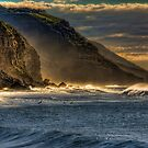 Frosty Coalcliff cliffs by Christina Brunton