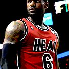 LeBron James, Miami Heat by jsipek