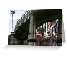 The Bridge On The River Kwazy Greeting Card