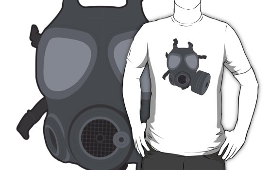 Army Gas Mask  by GregWR