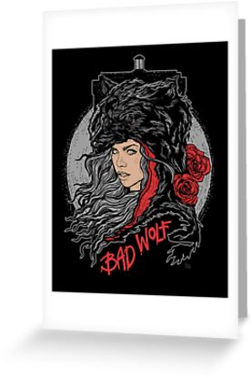 Bad Wolf-Black by zerobriant