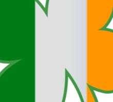 St Patricks Kiss Me Im Irish Flag Sticker
