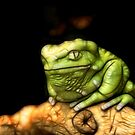 Electric Tree Frog by SuddenJim