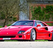 The Ferrari F40 by Gareth Spiller