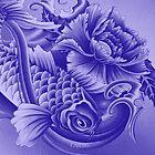 Purple Koi Case by Aarron Laidig