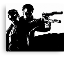 Boondock Saints Original Derivative Drawing Canvas Print