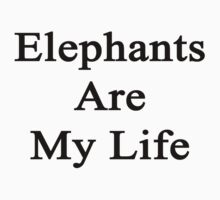 Elephants Are My Life  by supernova23
