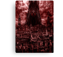 VISION OF HELL (red version) Canvas Print