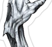 Zombie Hand Sticker