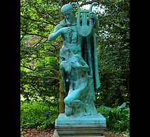 Planting Fields Arboretum State Historic Park Statue - Upper Brookville, New York by © Sophie W. Smith