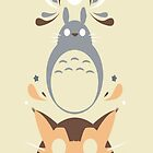 my neighbor totoro by rashellelee22