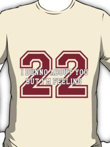 22 Sport Jersey  T-Shirt