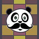 Mustache Panda 3 by Adamzworld