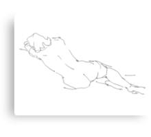 Nude Female Drawings 9  Canvas Print