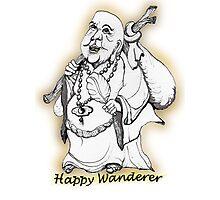 Happy Wanderer! Photographic Print