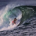 Surfer at Ala Moana Bowls .5 by Alex Preiss