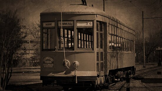 1924 Chattanooga Trolley by debidabble