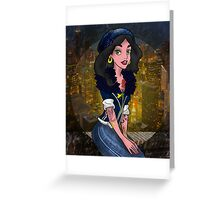 Hipster Jasmine Greeting Card