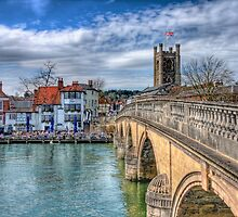 Henley On Thames And The Angel - HDR by Colin J Williams Photography