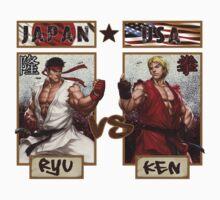 Street Fighter - Ryu vs Ken Kids Clothes