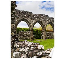 Cymer Abbey Ruins Poster