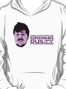 Malkovich's Gaming Guilty Pleasures - JonTron T-Shirt