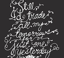 Fall Out Boy - 'Just One Yesterday' by stelle