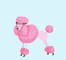 PINK POODLE by Jane Newland