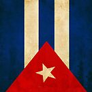 Retro Cuban Flag - iPhone & iPod Case by Robert Claudio