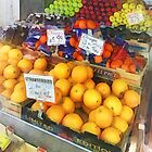Fruit Stand Hoboken NJ by Susan Savad