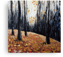 In The Woods #2 Canvas Print