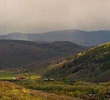 Changing Light over the Rockies by Matt Tilghman