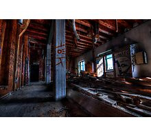 Red Mill - Interior #1 Photographic Print