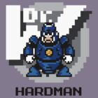 Hard Man with Black Text by Funkymunkey