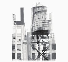 Depeche Mode : Delta Machine Paint cover - Only B&W- water tower 2 by Luc Lambert