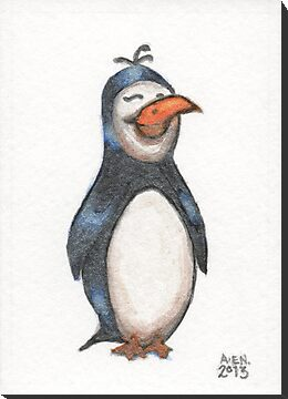 Penguin Friend by Amy-Elyse Neer