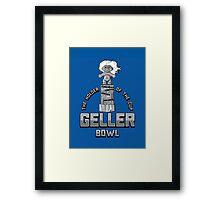 Geller Bowl (Holder of the Geller Cup) - Friends Framed Print