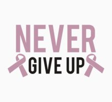 Never Give Up by BrightDesign