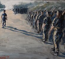 Plebe Summer Drill by kristincronic