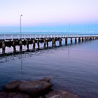 Wellington Point Jetty at Dusk by Renee Hubbard Fine Art Photography